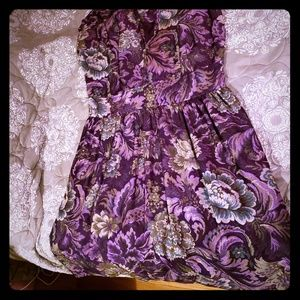Modcloth 1X purple dress by Bea & Dot